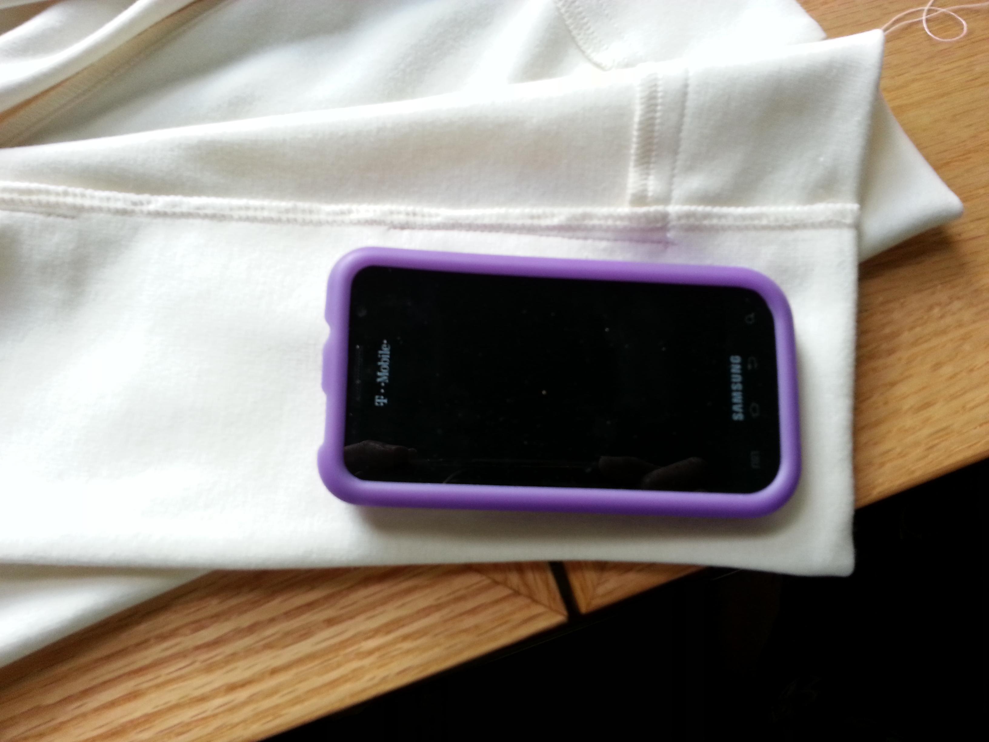 DIY Pocket in an Unlined Blazer or Jacket