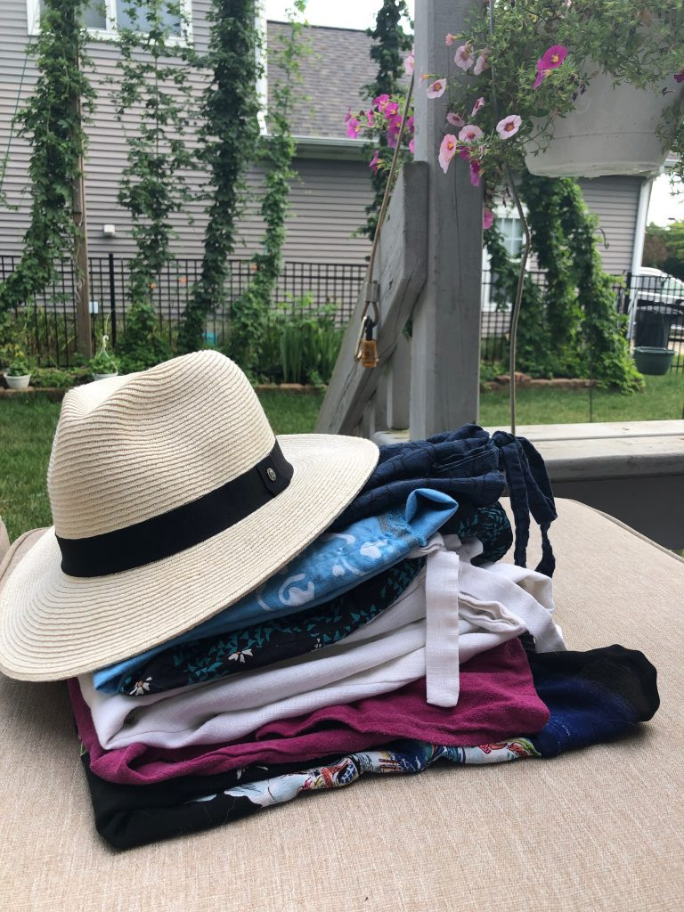 Sew an easy Summer Capsule Wardrobe