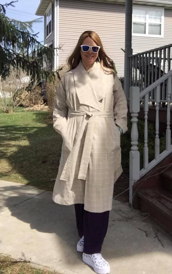 Linen Cambria Duster pattern review