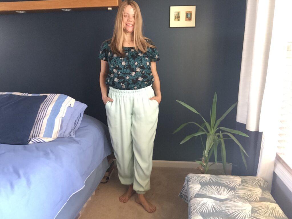 Luna jogger pants sewing pattern review