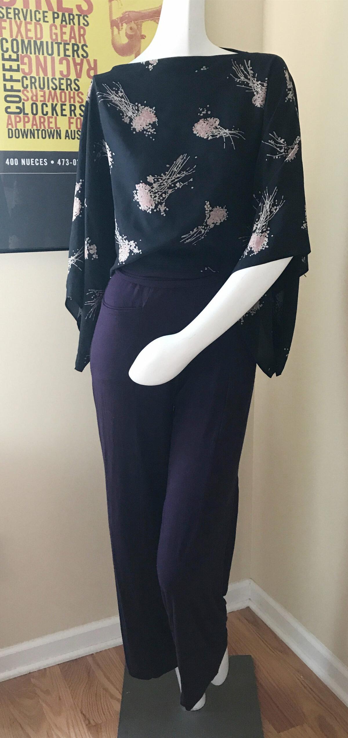 Kimono Poncho Top Sewing Pattern FREE