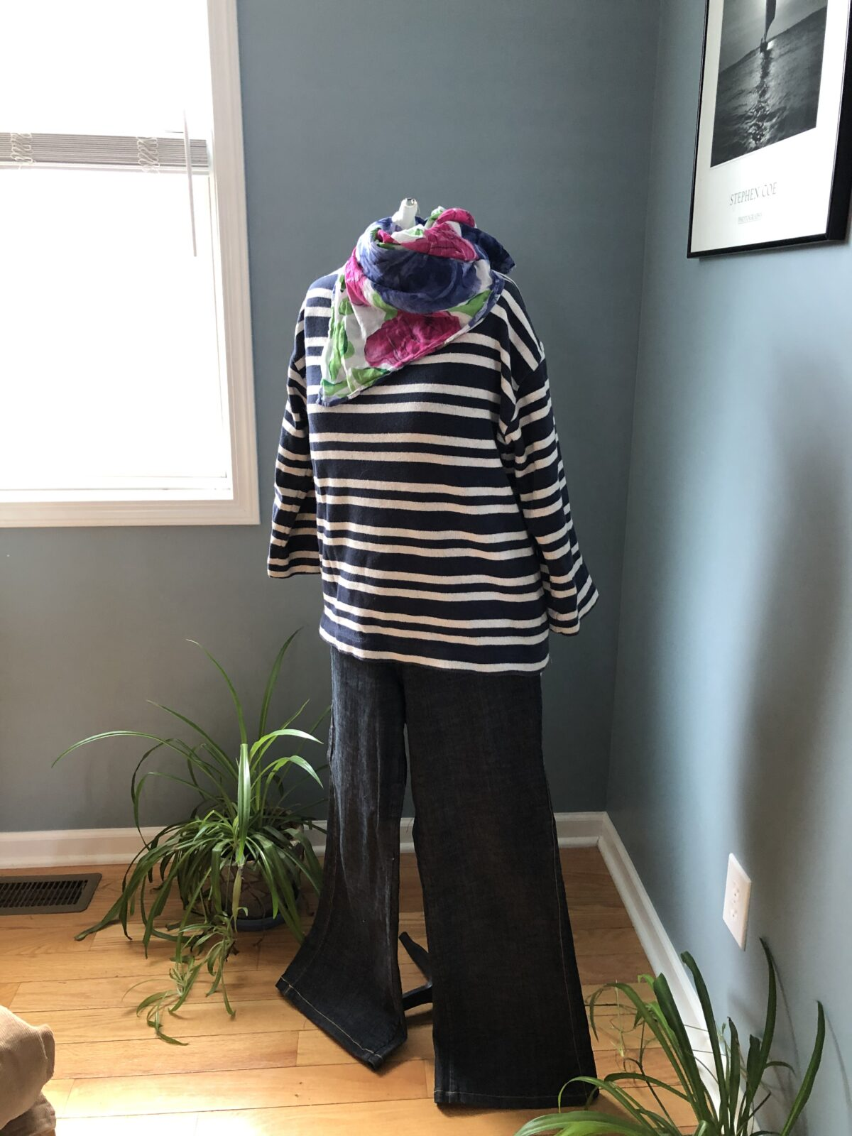 Sew a French Girl Wardrobe Breton Tee and Wide Leg Jeans