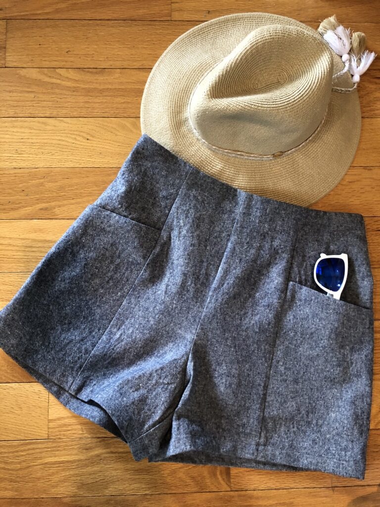 Pietra shorts Five Pants Challenge Sew Paradise