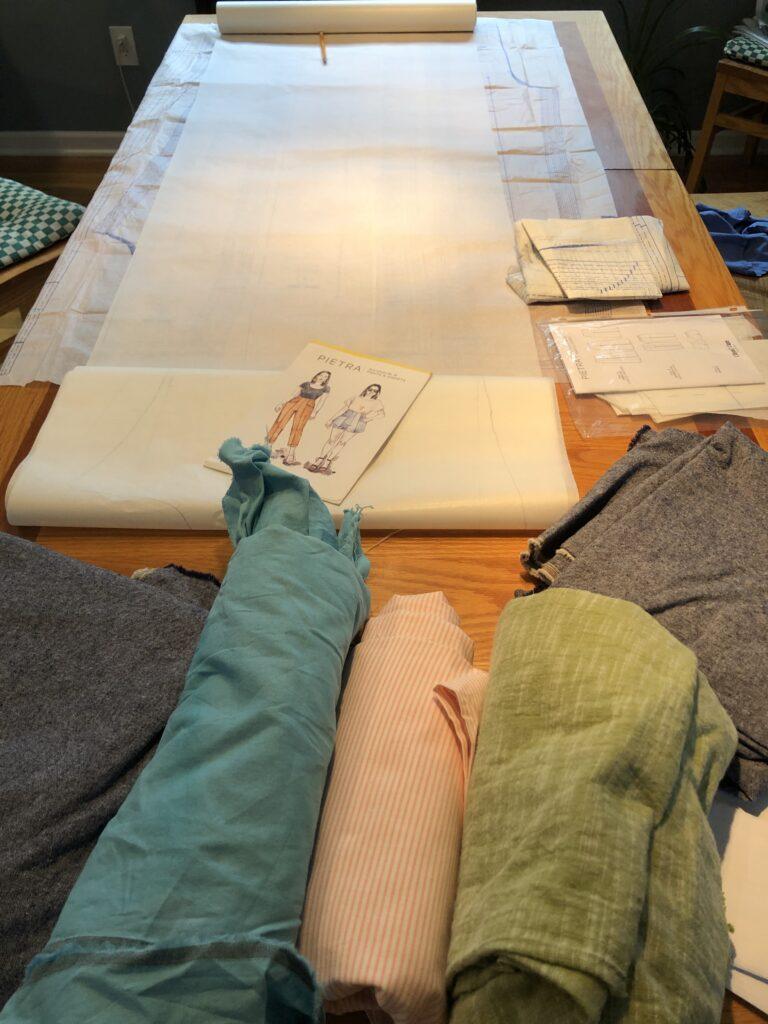 Pietra Pants - Pietra shorts, Pietra skinny pants, Pietra wide pants, Pietra cropped pants