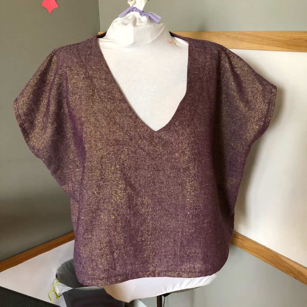 Summer top roundup Antero Shell sewing pattern