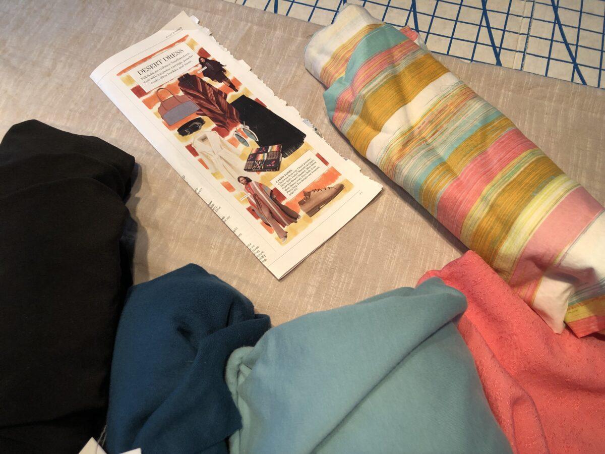 Make Nine Fall Capsule 2021 Sewing fall capsule wardrobe